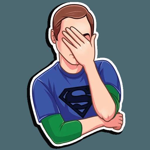 Sheldon - Sticker 12