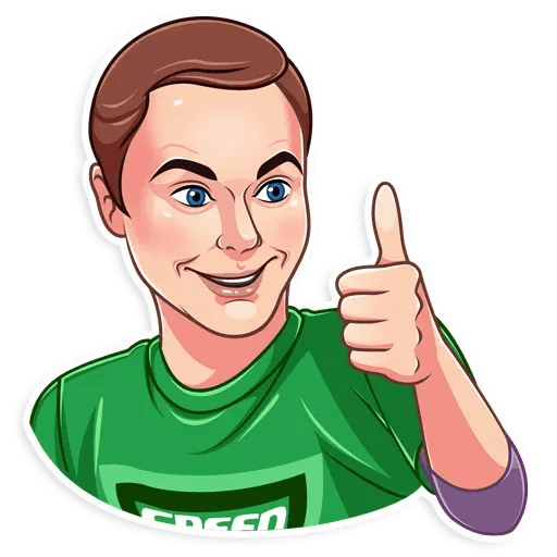 Sheldon - Sticker 3