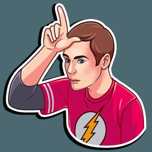 Sheldon - Sticker 16