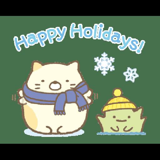 すみっコぐらしの冬スタンプ - Sticker 21