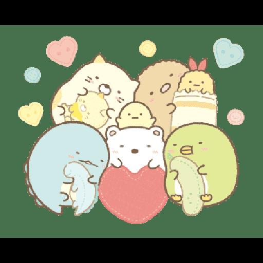 すみっコぐらしの冬スタンプ - Sticker 14