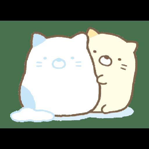 すみっコぐらしの冬スタンプ - Sticker 16
