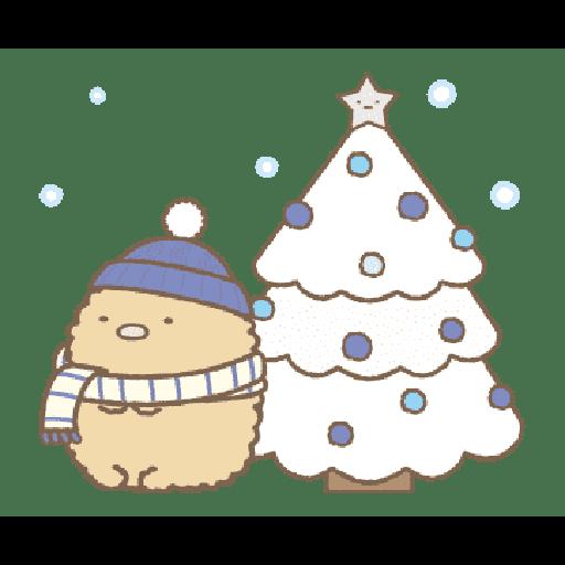 すみっコぐらしの冬スタンプ - Sticker 13
