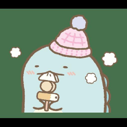 すみっコぐらしの冬スタンプ - Sticker 20