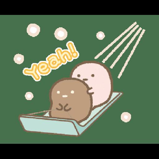 すみっコぐらしの冬スタンプ - Sticker 23