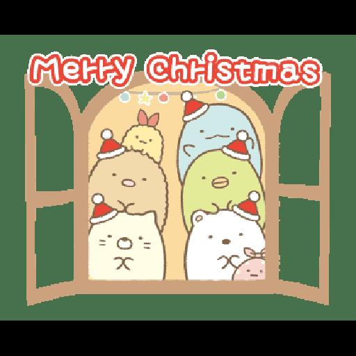 すみっコぐらしの冬スタンプ - Sticker 10
