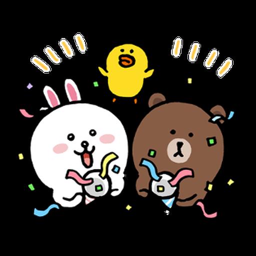 BROWN & FRIENDS × nagano - 1 - Sticker 14
