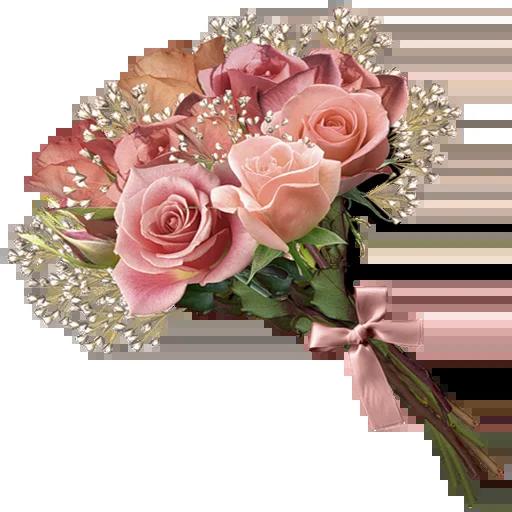 Pink Flowers @ykinanah - Sticker 23