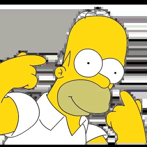 Simpsons pack - Sticker 2