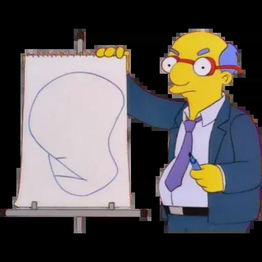 Simpsons pack - Sticker 25