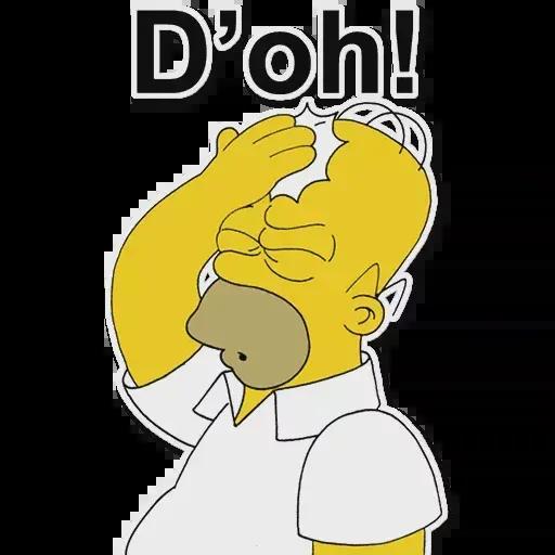 Simpsons pack - Sticker 14