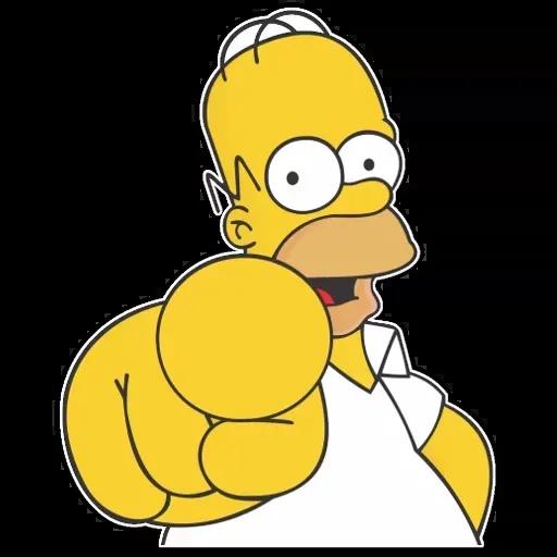 Simpsons pack - Sticker 8