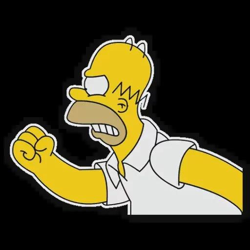 Simpsons pack - Sticker 17