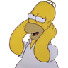 Simpsons pack - Tray Sticker