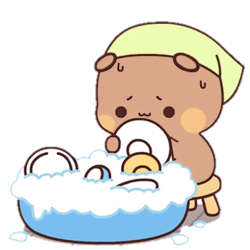 sugar and brownie🤍 - Sticker 9