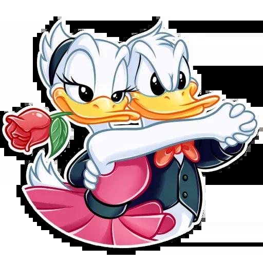 Donald and Daisy - Sticker 16