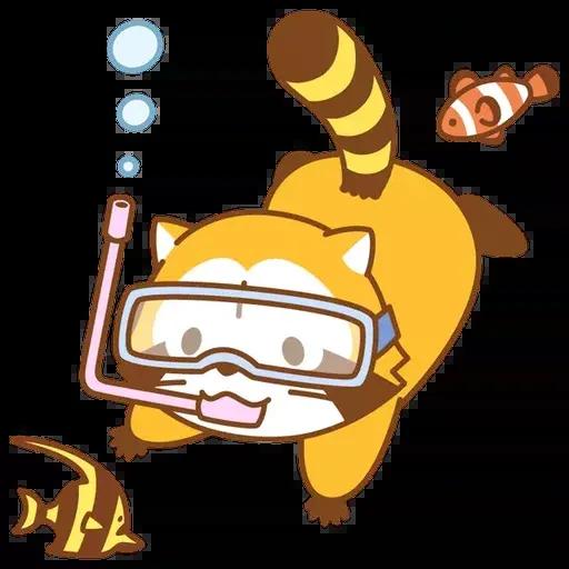 Tanuki 2 - Sticker 6