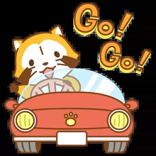 Tanuki 2 - Sticker 19