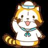 Tanuki 2 - Tray Sticker