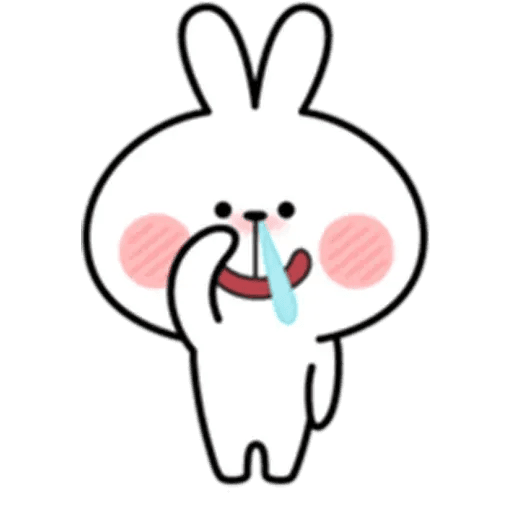 Spoiled rabbit 18 - Sticker 12