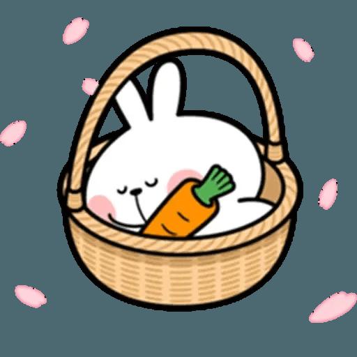 Spoiled rabbit 18 - Sticker 11