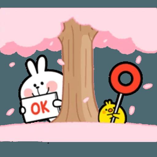 Spoiled rabbit 18 - Sticker 28