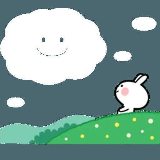 Spoiled rabbit 18 - Sticker 16