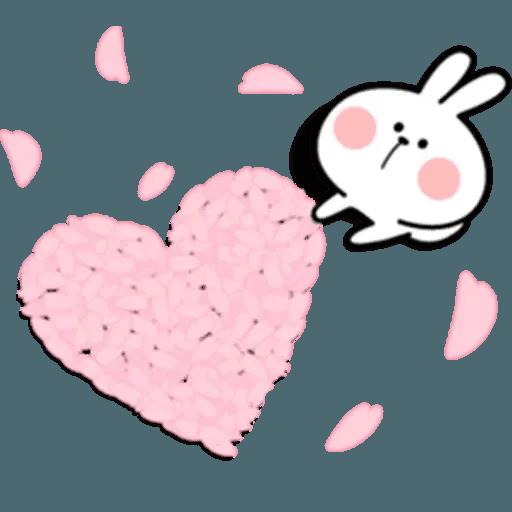 Spoiled rabbit 18 - Sticker 26