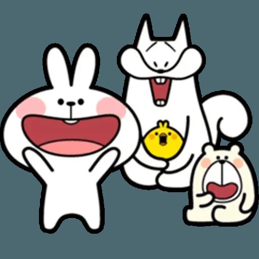 Spoiled rabbit 18 - Sticker 24