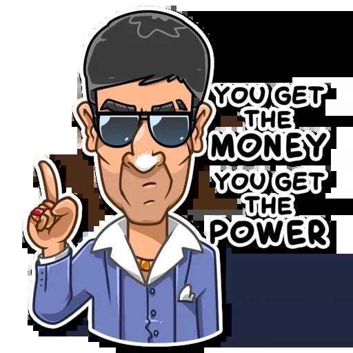 Tony Montana - Sticker 8