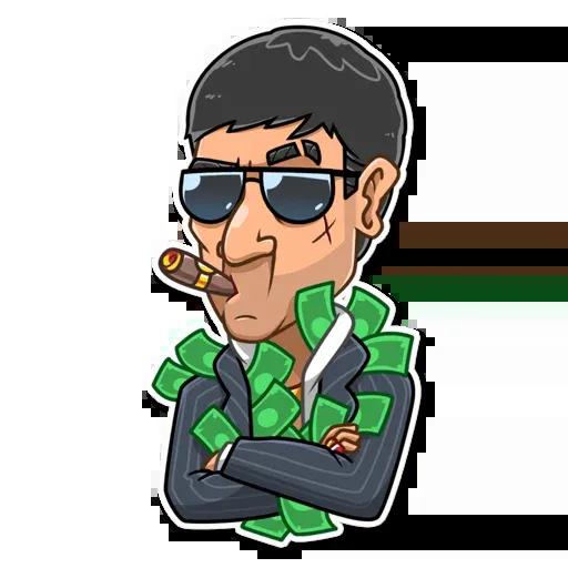 Tony Montana - Sticker 21