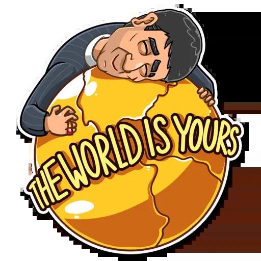 Tony Montana - Sticker 13