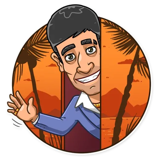 Tony Montana - Sticker 5