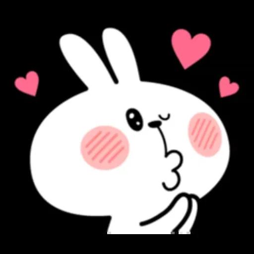 Spoiled rabbit - Sticker 24