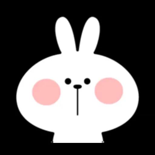 Spoiled rabbit - Sticker 13