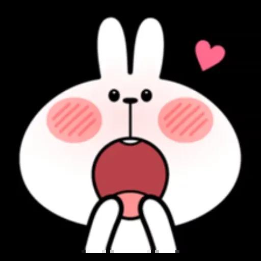 Spoiled rabbit - Sticker 27
