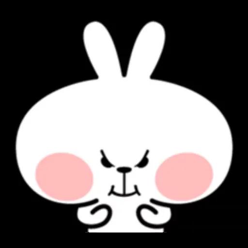 Spoiled rabbit - Sticker 6