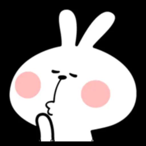 Spoiled rabbit - Sticker 12