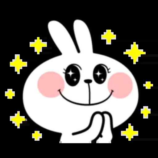 Spoiled rabbit - Sticker 1