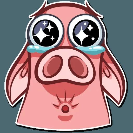 Pig Pete - Sticker 4