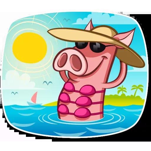 Pig Pete - Sticker 28