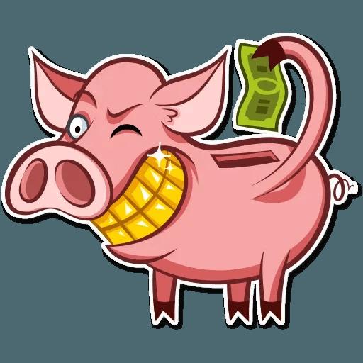Pig Pete - Sticker 15