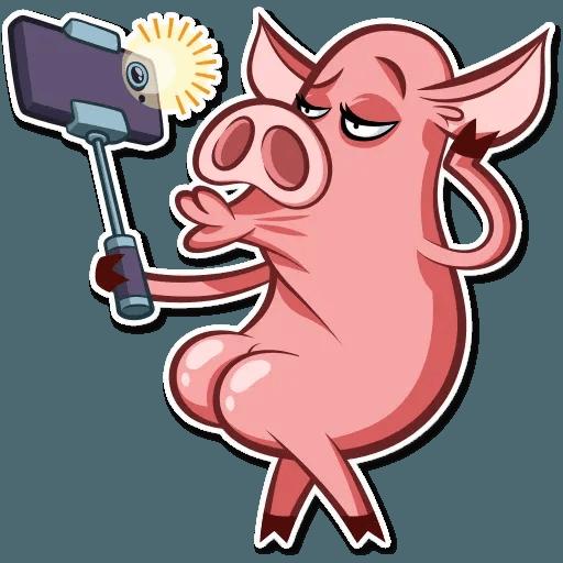 Pig Pete - Sticker 6