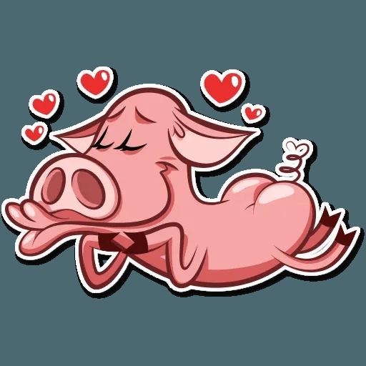 Pig Pete - Sticker 2