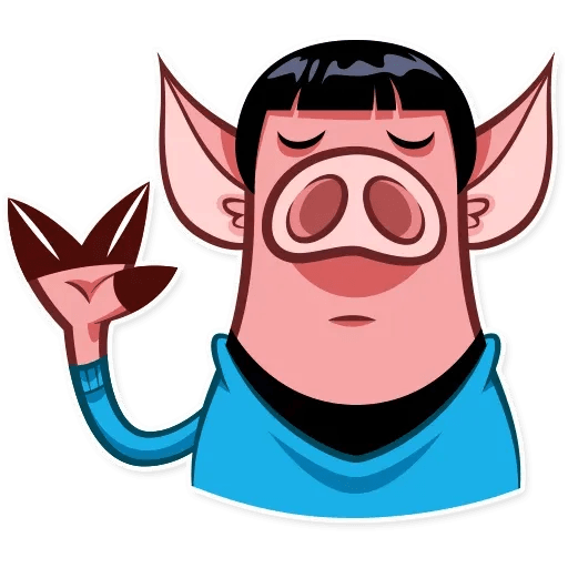 Pig Pete - Sticker 16