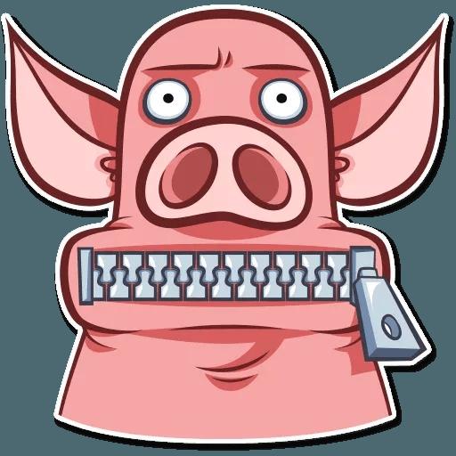 Pig Pete - Sticker 23