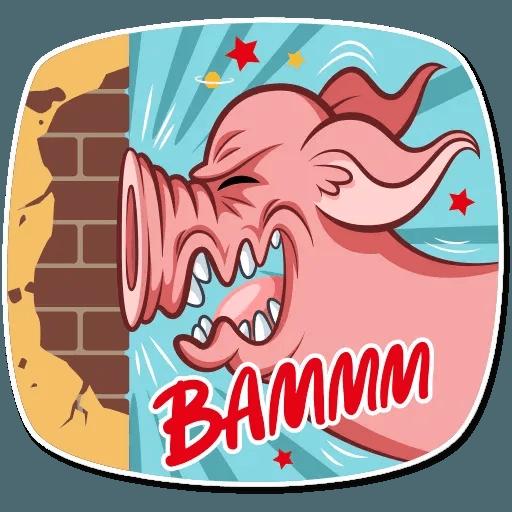Pig Pete - Sticker 17