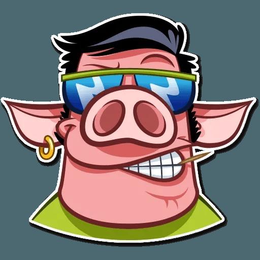 Pig Pete - Sticker 8