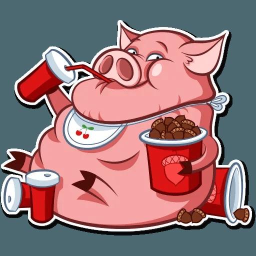 Pig Pete - Sticker 21