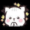 clingy kitty 1 - Tray Sticker
